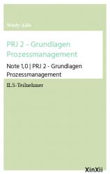 PRJ 2 - Grundlagen Prozessmanagement