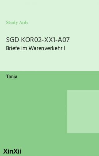 SGD KOR02-XX1-A07