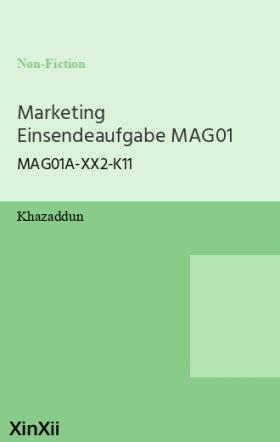 Marketing Einsendeaufgabe MAG01