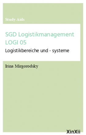 SGD Logistikmanagement LOGI 05