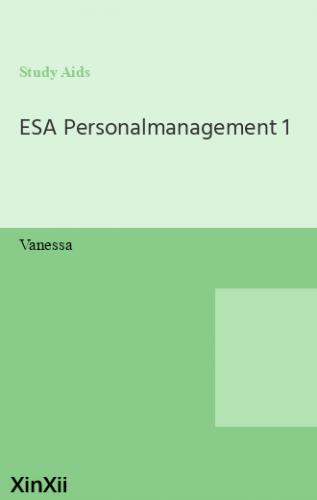ESA Personalmanagement 1