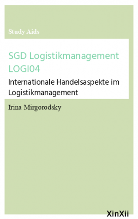 SGD Logistikmanagement LOGI04