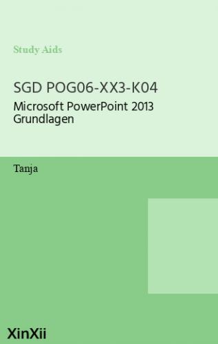 SGD POG06-XX3-K04