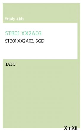 STB01 XX2A03