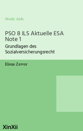 PSO 8 ILS Aktuelle ESA Note 1