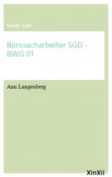 Bürosacharbeiter SGD - BWG 01