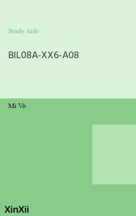 BIL08A-XX6-A08