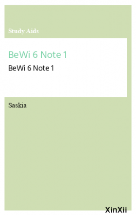 BeWi 6 Note 1