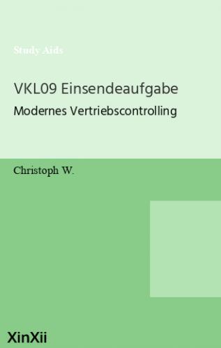 VKL09 Einsendeaufgabe