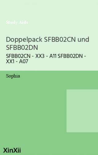 Doppelpack SFBB02CN und SFBB02DN