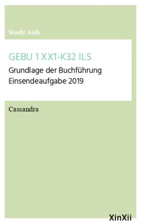 GEBU 1 XX1-K32 ILS