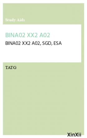 BINA02 XX2 A02