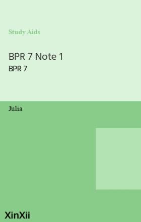 BPR 7 Note 1
