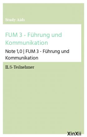 FUM 3 - Führung und Kommunikation