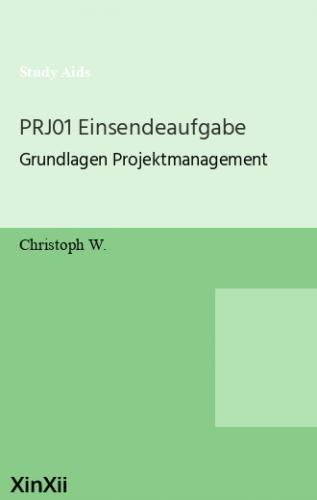 PRJ01 Einsendeaufgabe