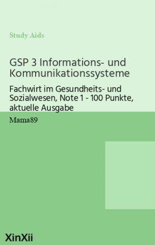 GSP 3 Informations- und Kommunikationssysteme