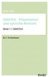 GMA15A - Präsentation und optische Rhetorik