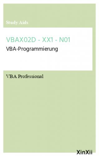 VBAX02D - XX1 - N01