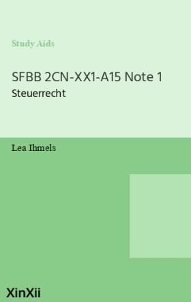 SFBB 2CN-XX1-A15 Note 1