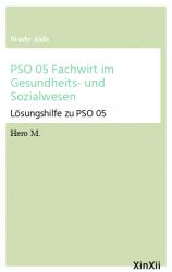 PSO 05 Fachwirt im Gesundheits- und Sozialwesen