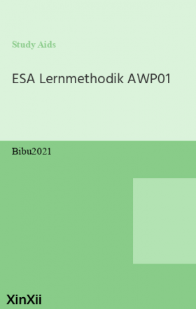ESA Lernmethodik AWP01