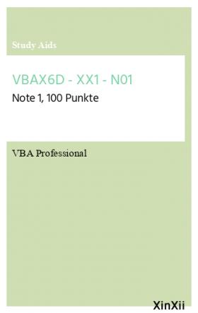 VBAX6D - XX1 - N01