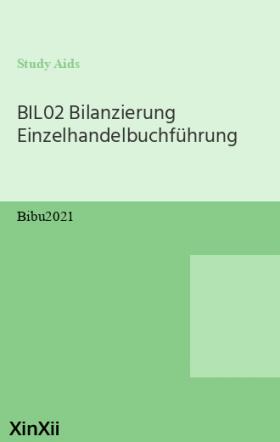 BIL02 Bilanzierung Einzelhandelbuchführung
