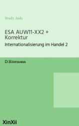 ESA AUW11-XX2 + Korrektur