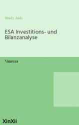 ESA Investitions- und Bilanzanalyse