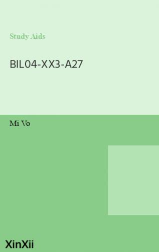 BIL04-XX3-A27