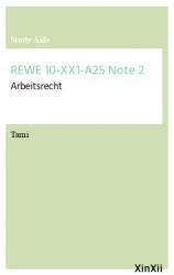 REWE 10-XX1-A25 Note 2