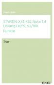 STW01N-XX1-K32 Note 1,4  Lösung 08/19,  92/100 Punkte