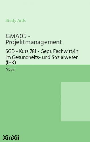 GMA05 - Projektmanagement