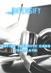 ARTIST IDENTITY CARD TEMPLATE plus Bonus