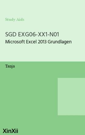 SGD EXG06-XX1-N01
