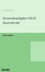 Einsendeaufgabe VKL01