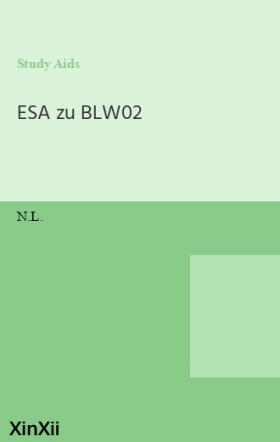ESA zu BLW02