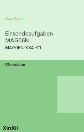 Einsendeaufgaben MAG06N